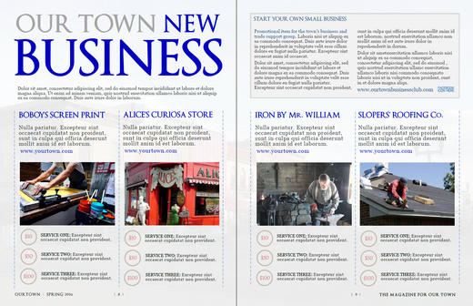 My new microsoft publisher magazine template news from jurn spread4 pronofoot35fo Gallery