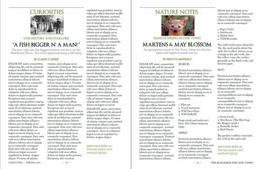 microsoft publisher magazine cover template